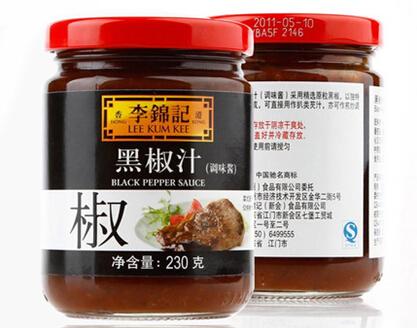 李锦记黑椒汁
